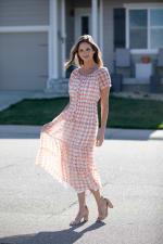 Vienna Batik Maxi Peasant Dress - 3