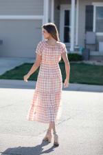 Vienna Batik Maxi Peasant Dress - 2