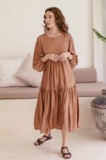 Thalia Midi Dress  - Plus - 3