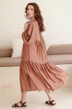 Thalia Midi Dress  - Plus - 5