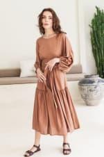 Thalia Midi Dress  - Plus - 1
