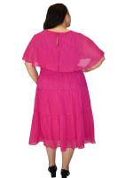 Maison Tara Capelet Dress - Plus - 5