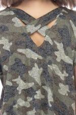 Camouflage Cross Back Tee - 3