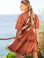 Linnette Victorian Style Mini Dress - Plus - 2