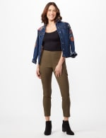 Skinny Cargo Pant - Olive - Front