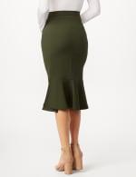 Flounce Skirt - Black - Back