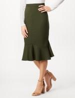 Flounce Skirt - Black - Detail