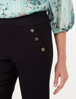 Pull-On Sailor Pants - Navy - Detail