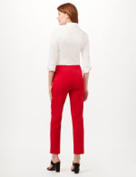 Pull-On Sailor Pants - Red - Back