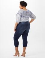 5 Pocket Denim Jeans - Dark Wash - Back