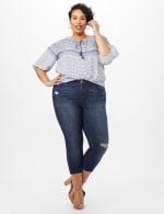 5 Pocket Denim Jeans - Dark Wash - Front
