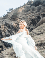 Hydra Goddess Kimono - Ocean - Back