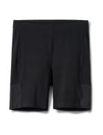 Pima Cotton Bike Short - Plus - Black - Front