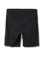 Pima Cotton Bike Short - Plus - Black - Back