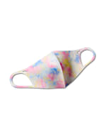 Iced Tie Dye Anti-Bacterial Fashion Mask - Pastel Multi - Front