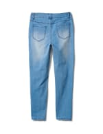 5 Pocket Skinny Ankle Jean - Medium Wash - Back