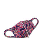 Royal Paisley Anti-Bacterial Fashion Face Mask - Purple - Front