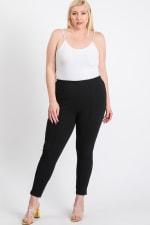 Everyday Skinny Pants - Black - Back
