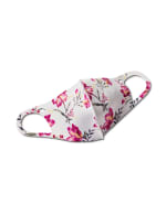 Painterly Floral Anti-Bacterial Fashion Face Mask - Multi - Front