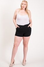 Hot Shorts For Hot Summer Days - Black - Front