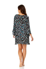 Anne Cole® Beautiful Bunches Tunic Swimsuit Cover-Up - Misses - Multi - Back