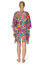 Tahari® Paris Floral Tunic Swimsuit Cover-Up - Multi - Back