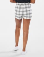 Hi Rise Front Sash Short - White/Black - Back