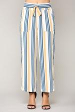 Waneete Pants - Multi stripe - Front
