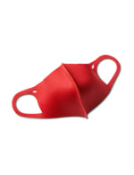 Solid Anti-Bacterial Fashion Face Mask - Jester Red - Front
