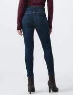 Petite Westport Signature 5 Pocket Skinny Jean - Dark Wash - Back