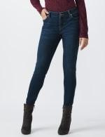 Petite Westport Signature 5 Pocket Skinny Jean - Dark Wash - Front