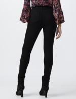 Petite Westport Signature 5 Pocket Skinny Jean - Black - Back