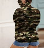 """Never Forget Your Mask"" Curve Fashion Top - Plus - Camo - Back"
