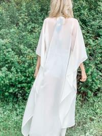 Hydra Goddess Kimono - White - Back