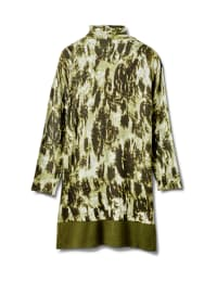 Roz & Ali Tie Dye Duster - Plus - Olive - Back