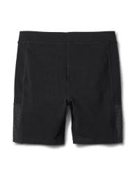 Pima Cotton Bike Short - Black - Back