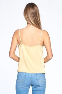 Silky Essential Tank - Yellow - Back