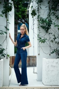 Jean Jumpsuit - Denim - Back