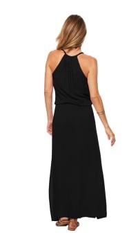 Sunstar Dress - Black - Back