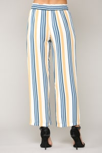 Waneete Pants - Multi stripe - Back