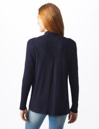 Roz & Ali Everyday Cardigan - Misses - Navy - Back