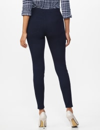 Ultra Stretch Denim Pull on Legging - Misses - Dark Wash - Back