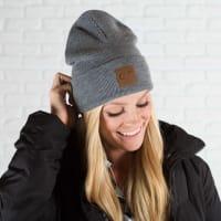 CC® Trendy Beanie - Light Melange Grey - Back