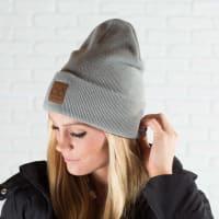 CC® Trendy Beanie - Natural Grey - Back