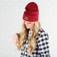 CC® Trendy Beanie - Red - Back