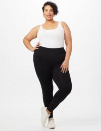 Tummy Control Leggings - Plus - Back