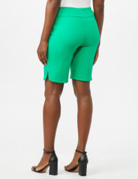 Pull on Shorts with Dome Rivet Trim - Back