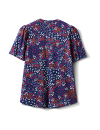 Elbow Floral Pintuck Popover - Back