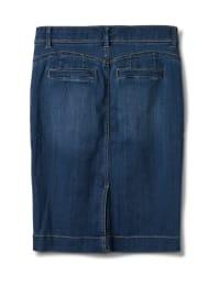 Goddess Skirt, Zip Fly , Front Pockets And Back Slash Pockets - Back