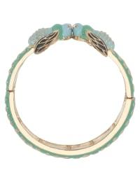 Pre-Order Turquoise Boho Bee Bangle Bracelet - Blue - Back